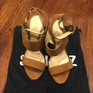Schutz Heels with ankle strap
